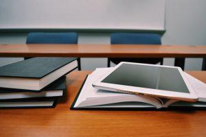 Books and iPad